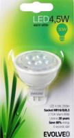EVOLVEO EcoLight, LED žárovka 4,5W, patice MR16 (4,5WMR16BL)
