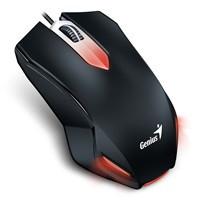 GENIUS myš X-G200 gaming/ drátová/ 1000 dpi/ USB/ černá (31040034102)