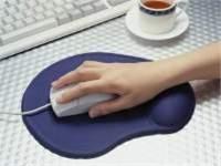 Podložka pod myš gelová, ergonomická