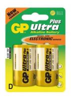 Alkalická baterie GP Ultra Plus 2x D (1017412000)
