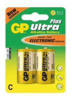Alkalická baterie GP Ultra Plus 2x C (1017312000)