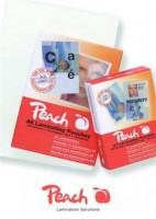 PEACH Laminovací folie lesklé 25ks Credit Card, 54x86mm, 125mic