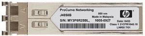 SFP transceiver 1,25Gbps, 1000BASE-SX, MM, 300/550m, 850nm (VCSEL), LC dup., 0 až 70C, 3,3V, HP komp.