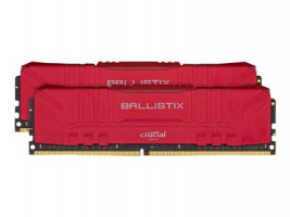 Ballistix 16GB sada DDR4 2x8GB 3000 CL15 DIMM 288pin červená