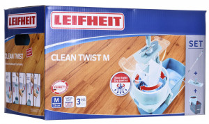 LEIFHEIT 52014 mopping system/bucket Double tank Blue