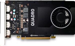 HP NVIDIA Quadro P2200 Graphics Card 5 GB (6YT67AA)
