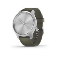 Garmin Vivomove 3 Style stříbrná, tmavě-zelený řemínek