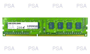 2-Power 2GB MultiSpeed 1066/1333/1600 MHz DIMM (MEM0302A)
