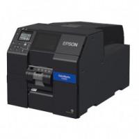 Epson ColorWorks CW-C6500Pe, peeler, disp., USB, Ethernet, černá