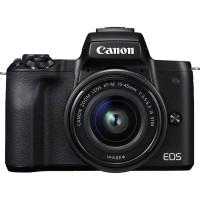 Canon EOS M50 + EF-M 15-45 černá