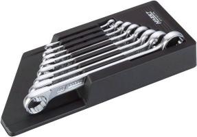Sada dvouočkových klíčů HAZET 610N/8RS