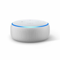 Amazon Echo Dot (3. Gen.) Sandstein Stof