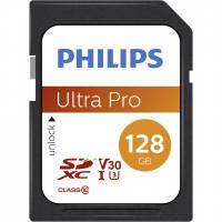 Philips SDXC Card 128GB Class 10 UHS-I U3 V30 A1