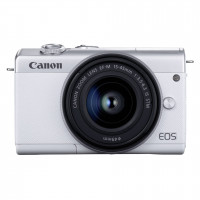 Canon EOS M200 Kit white + EF-M 15-45 IS STM
