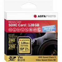 AgfaPhoto SDXC UHS II 128GB Professional vysokorychlostní U3 V90