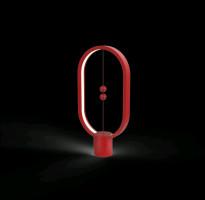 ALLOCACOC Lampa Heng Balance Ellipse USB-C, červená