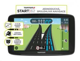 TomTom START 62 Europe LIFETIME mapy