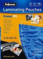 Fellowes A4 lesklý 175 Micron Laminating Pouch - 100 pack