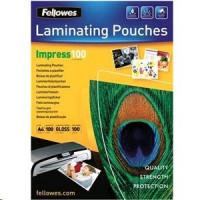 Fellowes A4 lesklý 100 Micron Laminating Pouch 100-pack