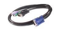 APC KVM PS/2 kabel - 6 ft (1.8 m)