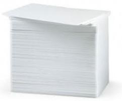 Zebra Premier PVC bílé karty, 30mil, (500 karet)