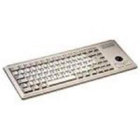Cherry Klávesnice G84-4400LUBUS-0, KEY, USB, světlá, trackball, EN