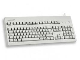 Cherry G80-3000LPCDE-0, KEY, USB&PS/2, světlá, DE