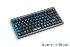 Cherry Klávesnice G84-4400LUBDE-2, KEY, USB, černá, trackball, DE