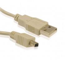 Gembird USB kabel A-mini B (4pin) 3m
