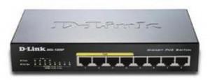 D-Link DGS-1008P 8x 1000 Desktop Switch,4PoE port