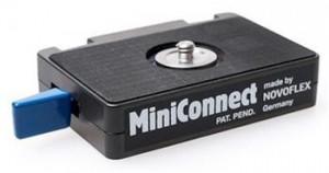 Novoflex MiniConnect, černá, 140 g