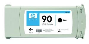 cartridge HP C5059A - black - originální, No.90 pro DSJ 4000 775ml