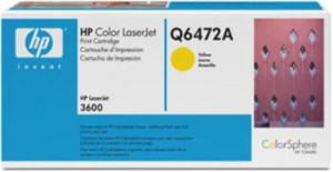 HP color toner, Q6472A, žlutý CLJ 3600 originál