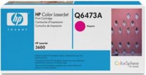 HP color toner, Q6473A, fialový CLJ 3600 originál