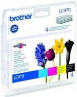 Brother LC-970 VALBP (inkoust multipack-černá+tři barvy)