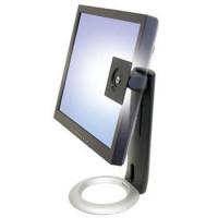 Ergotron Neo-Flex LCD Stand - Stojan pro plochý panel - černá - montážní rozhraní: 100 x 100 mm, 75