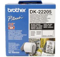 Brother - DK-22205 (papírová role 62mm x 30,48m)