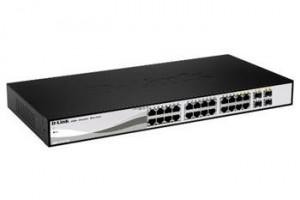D-Link DGS-1210-24 24x10/100/1000 Smart Sw+4xSFP