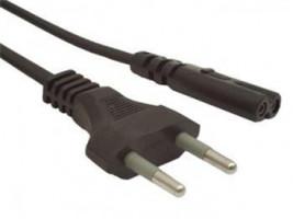 Gembird kabel síťový 1,8m napájecí 2pin Schuko
