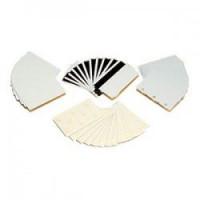 Zebra Premier PVC bílé karty 10mil (500 karet)