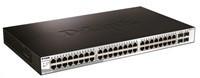 D-Link DGS-1210-52 48x 10/100/1000 Smart Sw,4x SFP