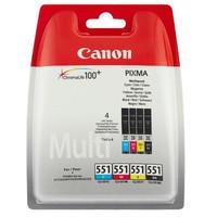 Canon CLI-551 C/M/Y/BK Multi Pack