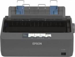 EPSON LX-350, A4, 9 jehel, 347 zn/s, 1+4 kopii, USB 2.0, LPT