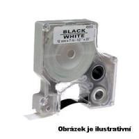 Dymo páska D1, 45013, S0720530, 12 mm, černá/bílá - kompatibilní