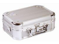 Dörr kufřík stříbrná barva 40