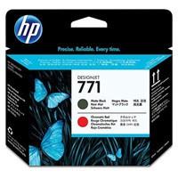 cartridge HP CE017A - matte black-chromatic red - originální, No.771 Designjet Printhead