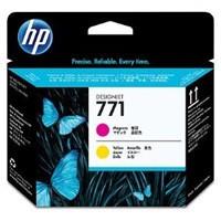 cartridge HP CE018A - magenta-yellow - originální No.771 Designjet Printhead