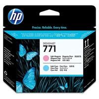 cartridge HP CE019A - light magenta-light cyan - originální, No.771 Designjet Printhead