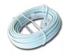 OEM telefonní kabel 4 žilový 1,8 m s koncovkama