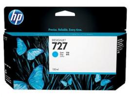 HP 727 Cyan Ink Cart, 130 ml, B3P19A